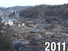 日本311大地震8周年 灾区重建前后对比令人感叹